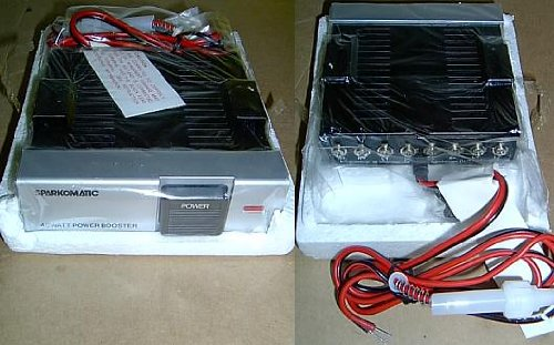 New Sparkomatic Car Stereo 40 Watt Power Amplifier - Booster Lc52 Lc-52