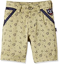 Seals Boys' Shorts (AM8133_1_KHAKI_3)