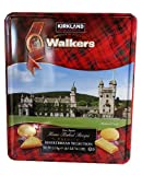 Walkers Premium Shortbread Selection 4 Varieties Gift Tin Net Wt 4.6 lb (2.1 Kg)
