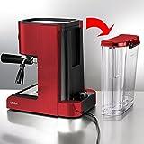 BEEM-Germany-Espresso-Perfect-Machine--Expressos-Professionnelle-rouge-brillant
