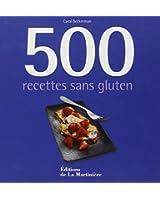 500 recettes sans gluten