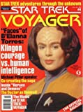img - for Star Trek Voyager Magazine #4 - Roxann Biggs-Dawson (Oct. 1995) book / textbook / text book