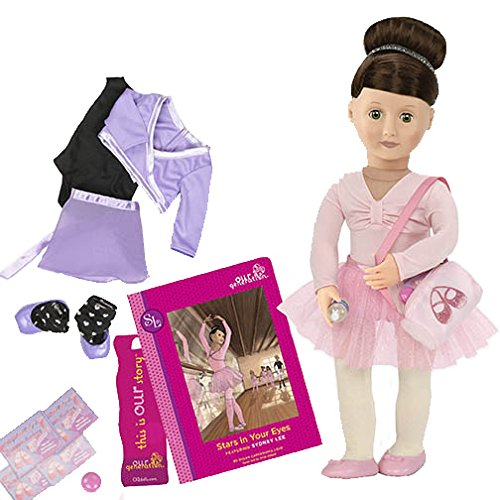 our-generation-18-inch-sydney-lee-doll-with-book