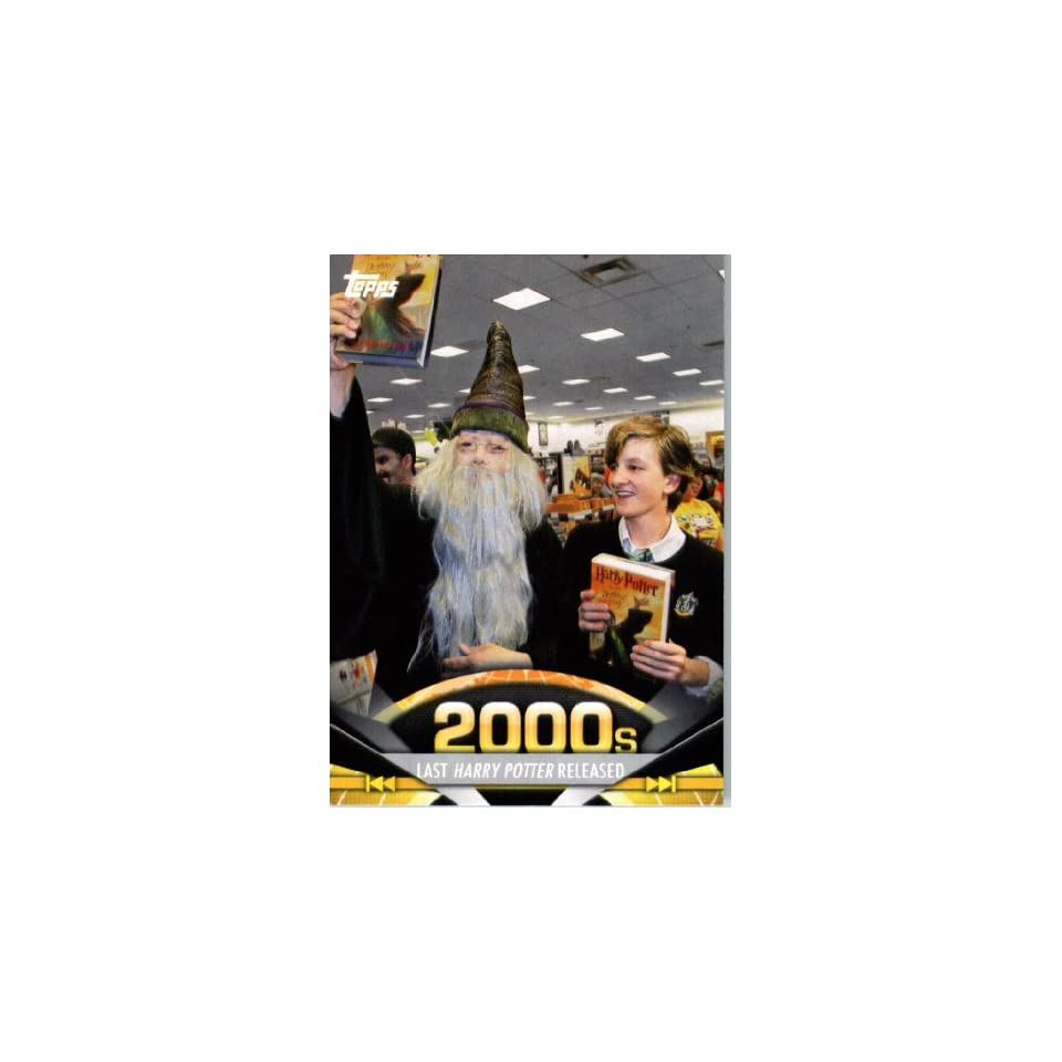 2011 Topps American Pie Card #191 Last Harry Potter Released   ENCASED Trading Card