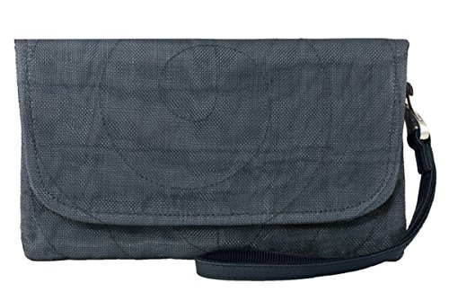 Vegan Eco Friendly Travel Clutch (Charcoal)