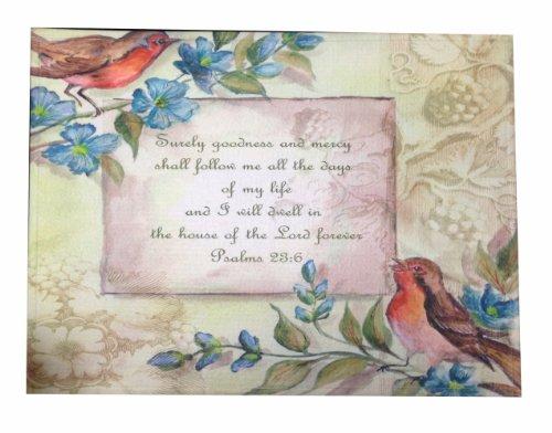 Shabby Chic Retro Vintage Birds On The Blue Flower Door Mat Floor Rug Decor front-550787