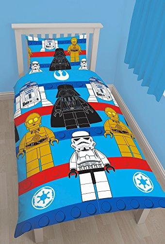 LEGO Star Wars Sides Set Letto Copripiumino Singolo in policotone