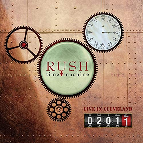 Vinilo : RUSH - Time Machine 2011: Live In Cleveland (4 Discos)