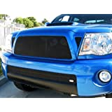 GrillCraft TOY1947B MX Series Black Lower 1pc Mesh Grill Grille Insert for Toyota Tacoma