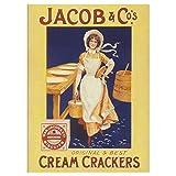 Retro Design Fridge Magnets: Jacob & Co's Cream Crackers