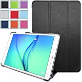 Samsung Galaxy Tab A 9.7 Case - HOTCOOL Ultra Slim Lightweight SmartCover Stand Case For Samsung Galaxy Tab A SM-T550NZWAXAR 9.7-Inch Tablet(With Smart Cover Auto Wake/Sleep), Black