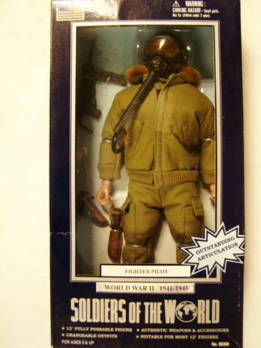 Buy Low Price Formative International Soldiers of the World WWII FIGHTER PILOT Figure (B004AFJATS)