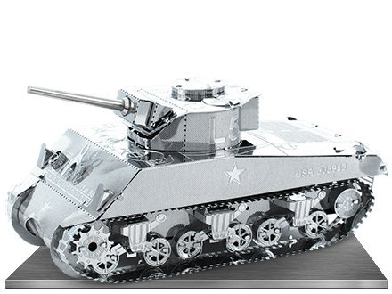 MetalEarth - Sherman Tank - 1