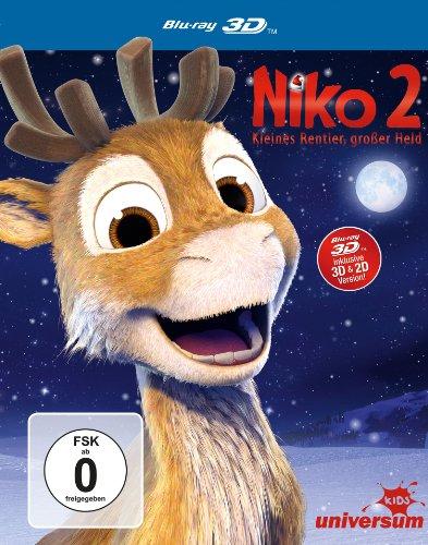 Niko 2 - Kleines Rentier, großer Held  (inkl. 2D-Version) [Alemania] [Blu-ray]