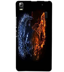 LENOVO A 7000 TURBO DRAGON Back Cover by PRINTSWAG