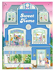 Create Your Sweet Home Colouring Book