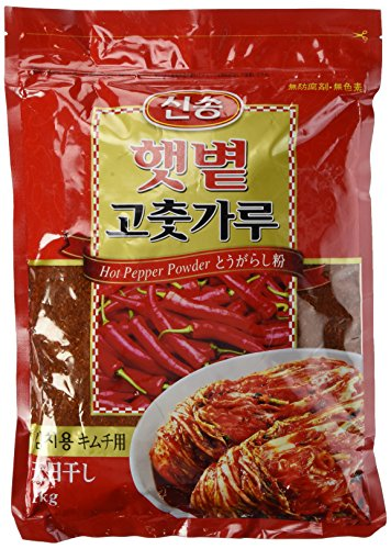 (2.2 Lb)-Korean Red Chili Flakes, Gochugaru, Hot Pepper Powder by Singsong (Korea Chili Flakes compare prices)
