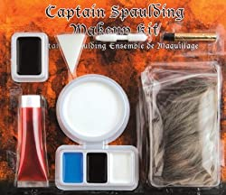 Makeup Kit - Devil's Rejects Captain Spaulding