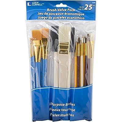 Loew-Cornell Brush Set Value Pack