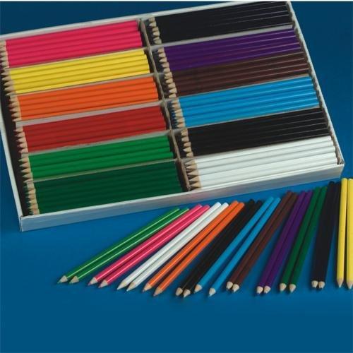 S&S Worldwide Color Splash!® Colored Pencils Pluspack (Box of 240)