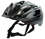 #6: GENRIC Inmould Helmet Bicycle Adults Vogue Sport (Black)