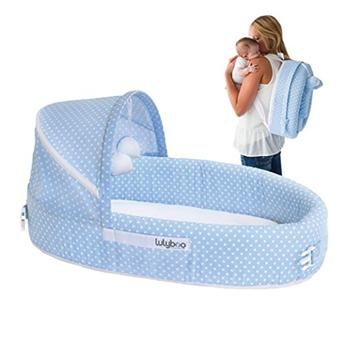 Lilyboo BLF BD 002 Baby Lounge Blue Dots - 1