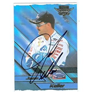 Keller Auto Racing on Amazon Com  Jason Keller Autographed Trading Card  Auto Racing  High