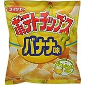 【期間限定】【ケース販売】コイケヤ ポテトチップス バナナ味 50g×12袋