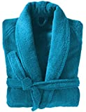 Adore Home Mens and Ladies 100% Cotton Terry Towelling Adults Shawl Collar Bathrobe Dressing Gown Bath Robe