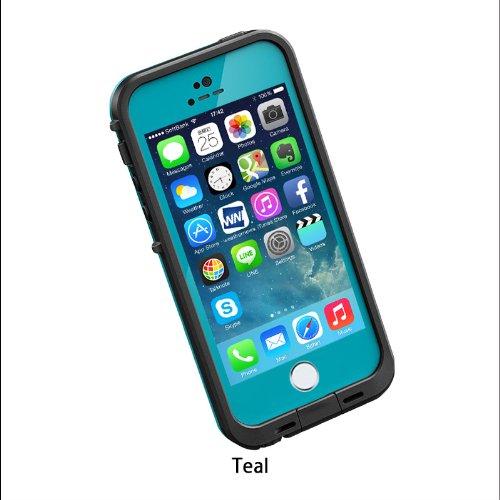 日本正規代理店品・保証付LIFEPROOF 防水防塵耐衝撃ケース LifeProof fre iPhone5/5s Teal ティール 2101-06