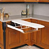 Hafele Built-In Flip & Tip 37 3/8″ x 20 1/4″ Ironing Board White Picture