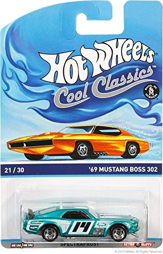 Hot Wheels Cool Classics 21/30 - '69 Ford Mustang Boss 302 (Card Variation)