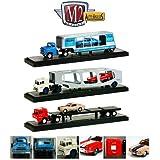 "Auto Haulers Release 15 ""B"", 3 Trucks Set 1/64 Diecast Models By M2 Machines 36000 15 B"