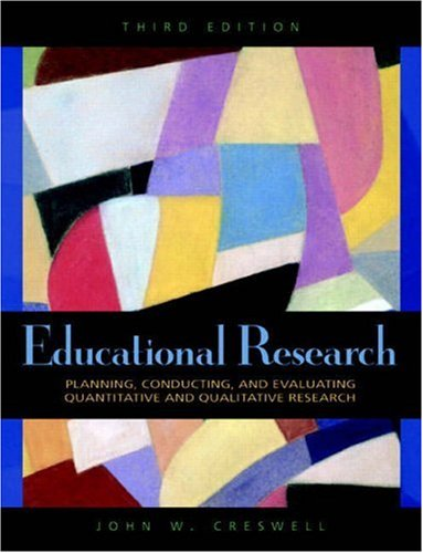Educational Research: Planning, Conducting, and...