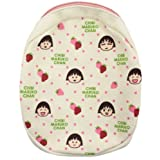 Chibi Maruko Chan round pouch strawberry (japan import)
