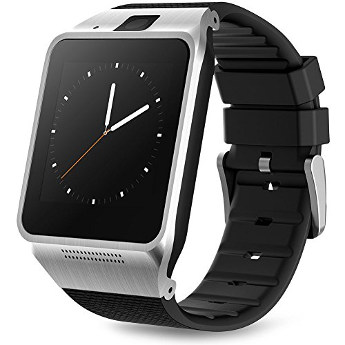Padgene Bluetooth V3.0 SmartWatch for Samsung S3 / S4 / S5 / Note 2 / Note 3 / Note 4, HTC M8 / M9, Sony and Other Android Smartphones, Black