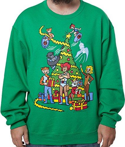ThunderCats Christmas Tree Sweatshirt