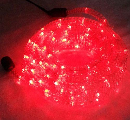 LED ROPE LIGHT KIT 9m, CHRISTMS DECOR LIGHTING, OUTDOOR ROPE LIGHTING (red) (Rope Lighting 30 Ft compare prices)