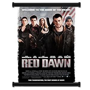 """Red Dawn 2012 Movie Fabric Wall Scroll Poster (16"""" x 23"""") Inches"""