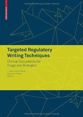 Targeted Regulatory Writing Techniques: Clinical...