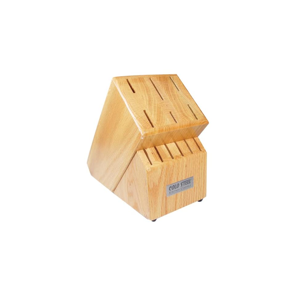 Kitchen Classic Wood Block Only Holds 12 Knives: Home & Kitchen