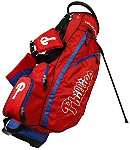 MLB Philadelphia Phillies Fairway Stand Golf Bag, Blue by Team Golf