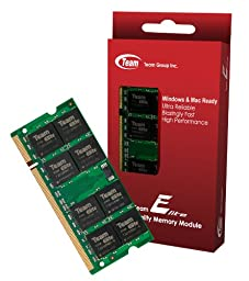 1GB Team High Performance Memory RAM Upgrade Single Stick For HP - Compaq Presario R3000 R3000T R3000Z R3120US Series Laptop. The Memory Kit comes with Life Time Warranty.