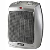 Lasko 5369 - Oscillating 1500W Ceramic Tower Heater w/Electronic Control Gray