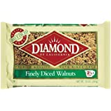 Diamond Walnuts, Finely Diced, 10-Ounce Bags (Pack of 6)