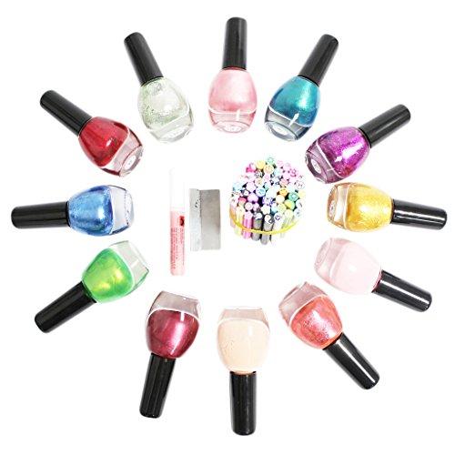 12-pezzi-smalti-unghie-set-stupendo-con-50-canne-da-fimo-per-nail-art-di-kurtzy-tm