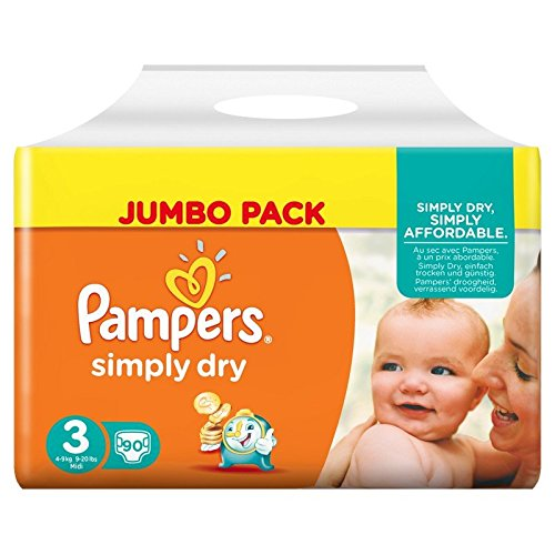 pampers-simply-dry-panales-talla-3-4-9-kg-2-x-90-panales