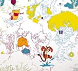 GRAHAM & BROWN DISNEY WINNIE THE POOH SUMMER STROLL CHILDRENS WALLPAPER 70-231