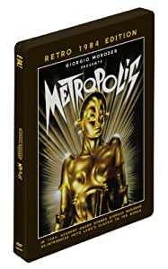 Metropolis Retro 1984 Edition Steelbook DVD presented by Giorgio Moroder