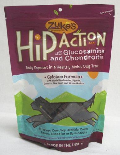 Zukes Llc 21520 Hip Action Dog Chicken 1 Pound